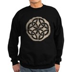 Celtic Knotwork Coin Sweatshirt (dark)