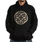 Celtic Knotwork Coin Hoodie (dark)