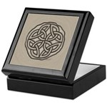 Celtic Knotwork Coin Keepsake Box