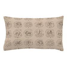 Celtic Coins Pillow Case