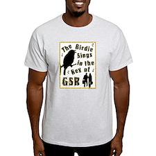 Key of GSR Ash Grey T-Shirt