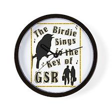 Key of GSR Wall Clock