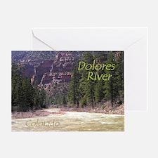 Dolores River Ponderosa Gorge Card