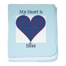 Heart - Elliot baby blanket