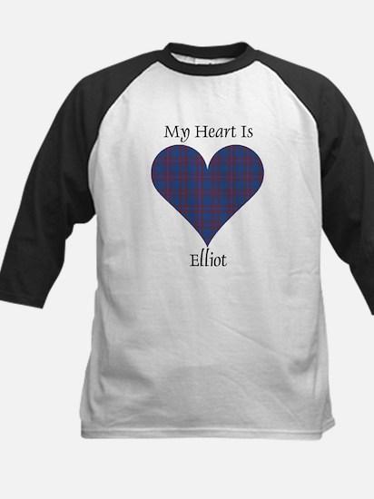 Heart - Elliot Kids Baseball Jersey
