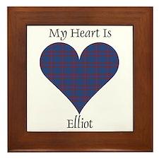 Heart - Elliot Framed Tile