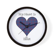 Heart - Elliot Wall Clock