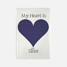 Heart - Elliot Rectangle Magnet