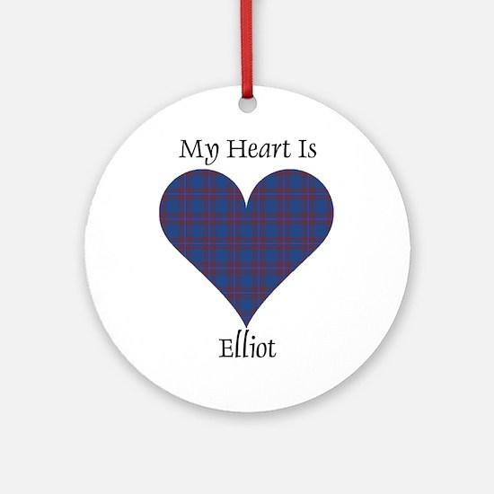 Heart - Elliot Ornament (Round)
