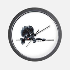 Affen Over the Line Wall Clock
