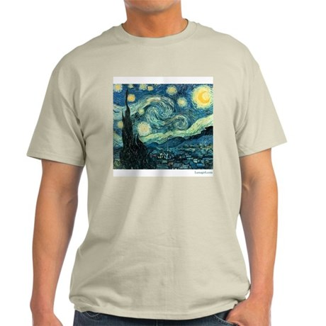 Starry Night Vincent Van Gogh Painting T-Shirt