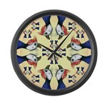 Guineas Galore! Large Wall Clock