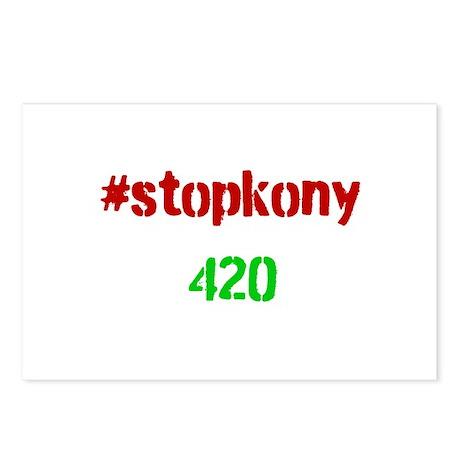 #stopkony 420 Postcards (Package of 8)