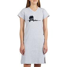 Affen Over the Line Women's Nightshirt
