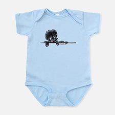 Affen Over the Line Infant Bodysuit