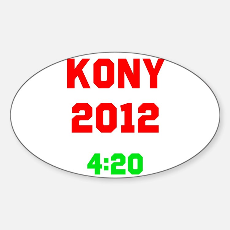 Kony 2012 4:20 Stickers