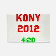 Kony 2012 4:20 Rectangle Magnet