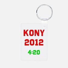 Kony 2012 4:20 Aluminum Photo Keychain