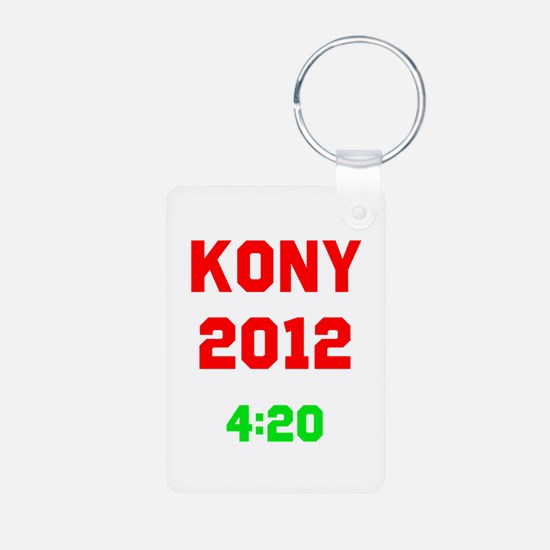 Kony 2012 4:20 Aluminum Photo Keychain