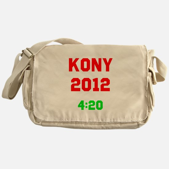 Kony 2012 4:20 Messenger Bag