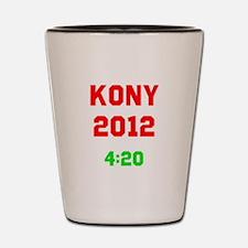 Kony 2012 4:20 Shot Glass