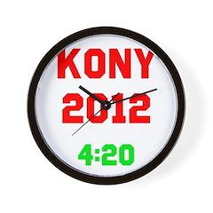 Kony 2012 4:20 Wall Clock
