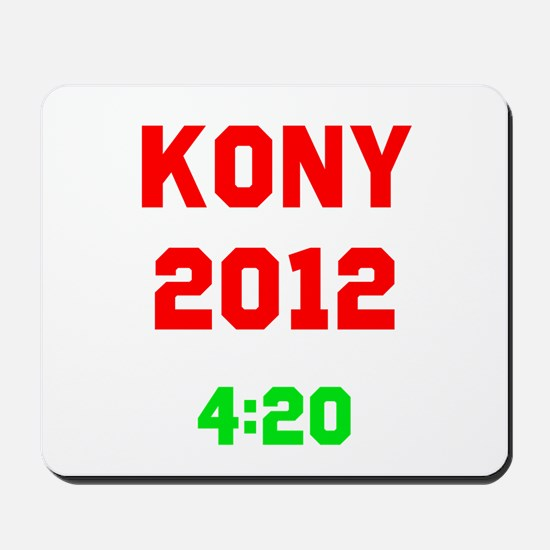 Kony 2012 4:20 Mousepad