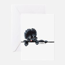 Affen Over the Line Greeting Cards (Pk of 20)