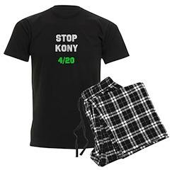 Stop Kony 4/20 Dark Pajamas