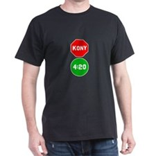 Stop Sign Kony Go 420 T-Shirt