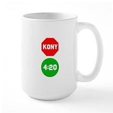 Stop Sign Kony Go 420 Mug