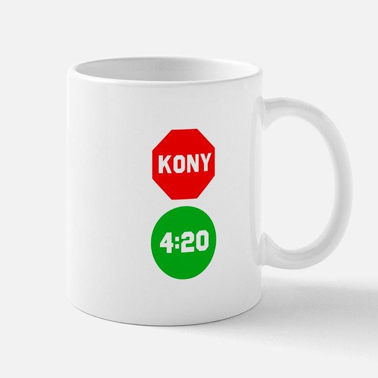 Stop Sign Kony Go 420 Small Small Mug