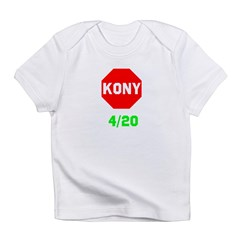 Stop Kony 420 Infant T-Shirt