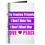 My Iranian Friends Journal