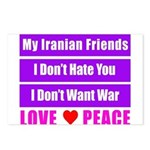 My Iranian Friends Postcards (Package of 8)