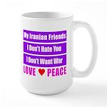 My Iranian Friends Large Mug