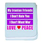 My Iranian Friends baby blanket