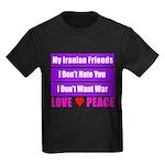 My Iranian Friends Kids Dark T-Shirt