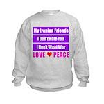 My Iranian Friends Kids Sweatshirt