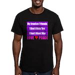 My Iranian Friends Men's Fitted T-Shirt (dark)