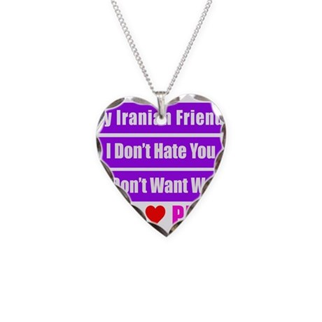 My Iranian Friends Necklace Heart Charm