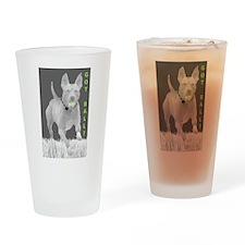 Pit Bull 9 Drinking Glass