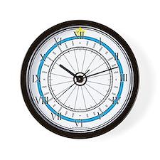 Fair Weather Home Compass Rose Wall Clock