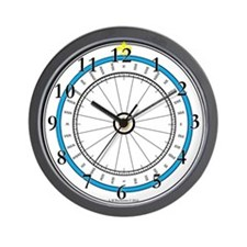 Fair Weather Home Compass Rose Wall Clock