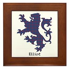 Lion - Elliot Framed Tile