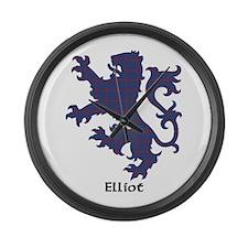Lion - Elliot Large Wall Clock