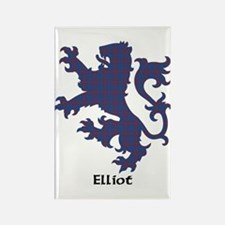 Lion - Elliot Rectangle Magnet