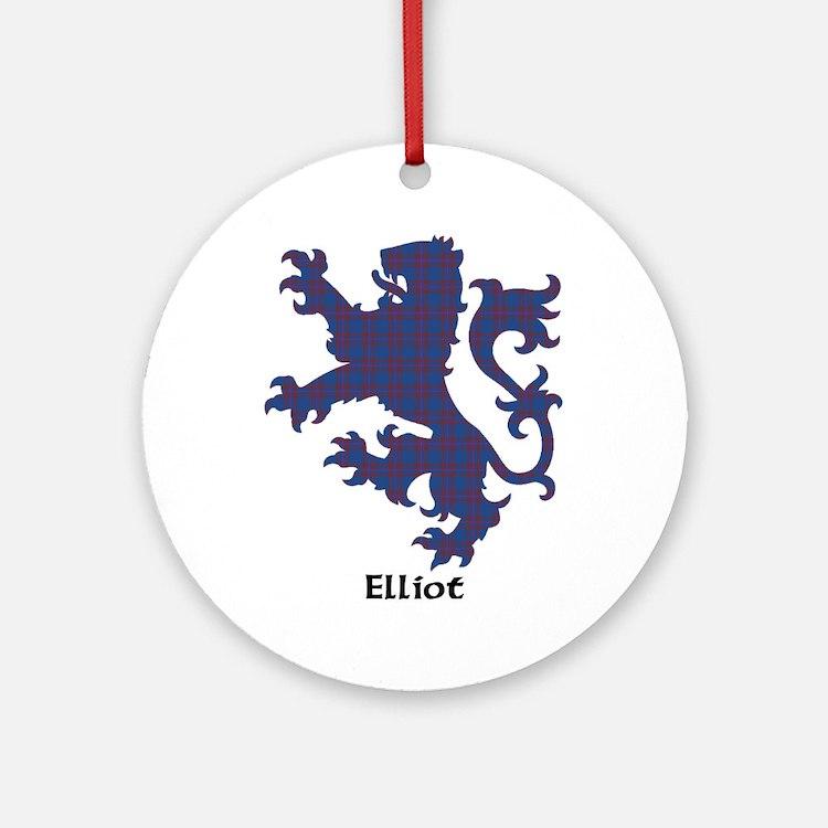 Lion - Elliot Ornament (Round)