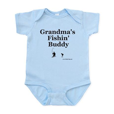 toddler_fishinguy_grandma Body Suit