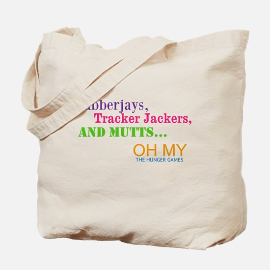 Cute Muttation the hunger games Tote Bag